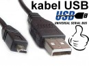KABEL USB FOTO PHOTO SANYO mini USB AM BM 1,5m