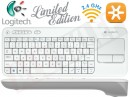 Logitech Wireless Touch Keyboard K400 White Releases Special Edition