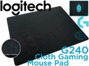 Logitech G240 Cloth Gaming Mouse Pad.