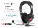 Crative Fatal1ty Gaming Headset