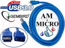 Kabel USB AM-micro 3.0 1.8M GEMBIRD